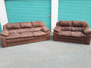 Brown Living Room Set **Delivery Included