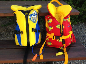 children life jackets ( two )