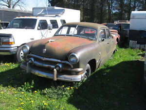 Western 1951 Ford 4-door sedan project car sell or trade