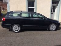 Passat estate 2.0L Highline, low mileage, excellent condition inside and out, leather interior