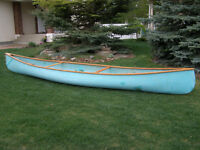 17 foot river/expedition canoe