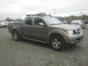 2007 NISSAN  FRONTIER !! LEATHER !! 4X4 !! POWER ROOF !!