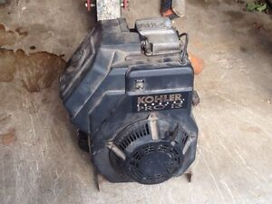 13 horse power Kohler industrial motor
