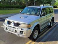 2007 Mitsubishi Shogun Sport 2.5 TD Equippe 5dr SUV Diesel Manual