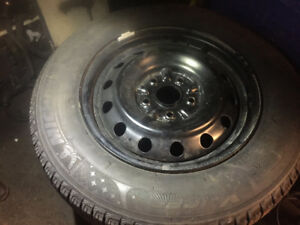 Set of winter tires  15""