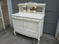 Antique Shabby Chic Buffet /Sideboard