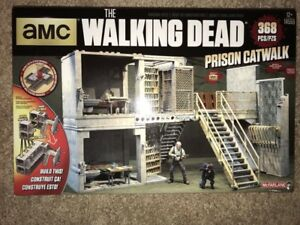 McFarlane Toys The Walking Dead Prison Catwalk playset BNIB