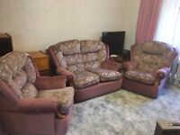 Really good condition!! 2 X Chair and 1 X 2 Seater Sofa