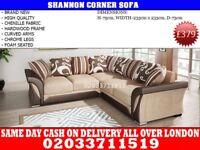 Brand New Shannon Corner sofa Bird in Hand