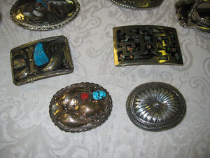 Belt Buckles -- FROM PAST TIMES Antiques & Coll - 1178 Albert St