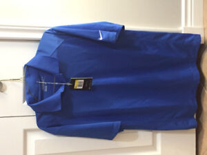 Men's Nike Dry Fit Golf Shirt new with tags size small