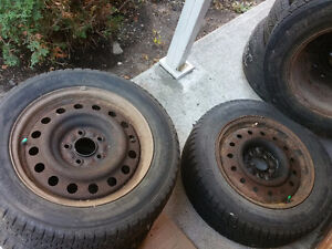 16 inch 4 tires on rims maxima infinity etc West Island Greater Montréal image 10