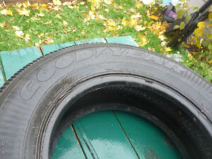 USED WINTER TIRES, 2 SETS