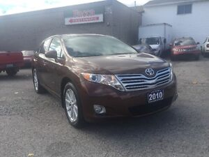 2010 TOYOTA VENZA AWD LMT LEATHER SUNROOF CERTIFIED & E-TEST