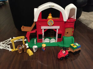 Fisher Price Animal farm + tractor