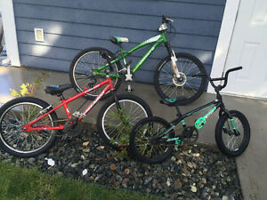 Kids BMX & Mountain bikes FOR SALE