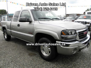2003 GMC Sierra SLT Z71 Off Road Leather 4x4 Pickup Truck
