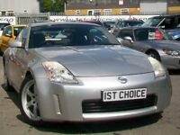 2002 NISSAN 350Z V6 AUTOMATIC THIS IS A GREAT LOOKING 350Z AND IS REAL VA