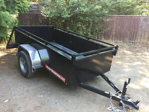 4x8 Tuff Trailer with 2' full metal sides (3 wks old!