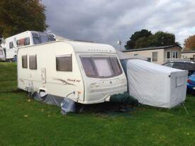 5 Berth Avondale Dart Caravan With Awning & Annex