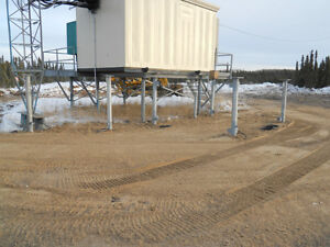 CERTIFIED SCREW PILE INSTALLER. CALL ROSS FOR A QUOTE Strathcona County Edmonton Area image 1