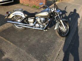 Yamaha xvs 125 £2300 O.N.O