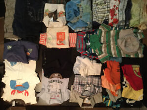 Boys 0-6 months assorted clothes