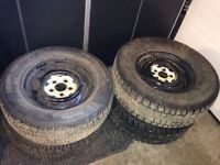 15 inch studded winter tires
