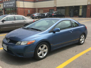 2006 Civic EX Coupe - 165,000km with 2 sets tires/wheels!