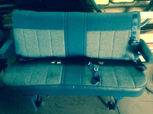 CHEV VAN BENCH SEATS