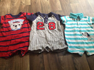 3-6 months boys lot with over 140 items Kitchener / Waterloo Kitchener Area image 8
