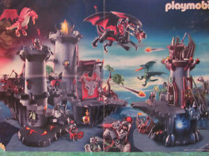 Playmobil castles, knights and dragons! Price reduced.