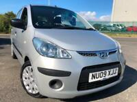 HYUNDAI i10 1.2 CLASSIC £22 WEEK NO DEPOSIT £30 TAX FSH CD/MP3 AC 5DR HATCH 2009