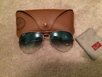Ray Bans Aviator Sunglasses
