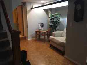 Available NOW-Furnished Extra Large 1 Bedroom Basement Suite