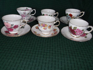 Vintage Cups and Saucers for Sale