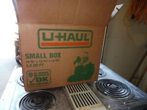 Uhaul boxes