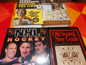 Hockey Books for Sale