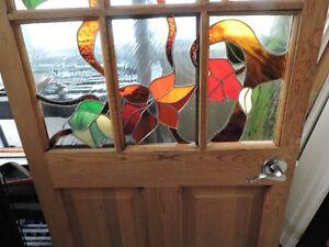 OYÉ OYÉ !!! Très belle porte vitrail / TRÈS URGENT