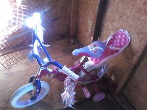 Vélo pour fillette a vendre