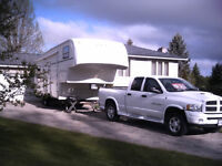 Great truck and trailer package