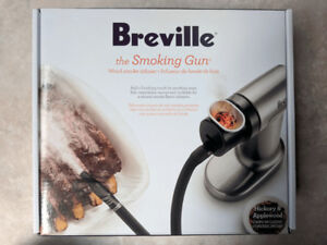 Brand New Sealed Breville BSM600SIL Food Smoker, Silver