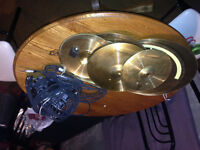 electric cymbols and trigger ois