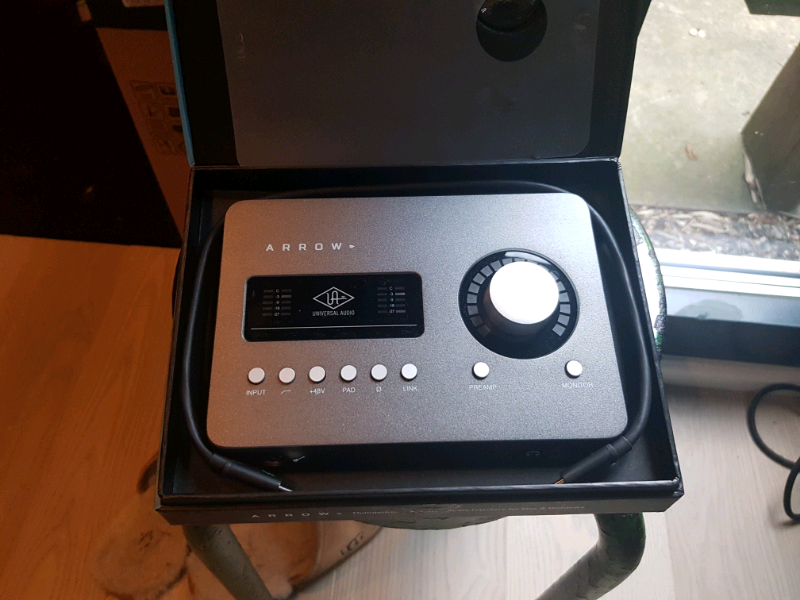 Universal Audio Arrow in perfect condition boxed | in Seven Sisters, London  | Gumtree
