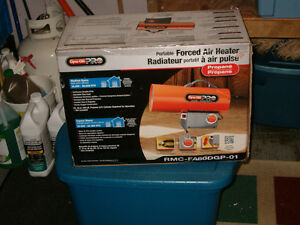 Dyna-Glo Pro Forced Air Propane Portable Heater!