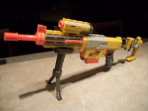Numerous N-Strike Nerf Guns (6 in total) and Accessories