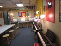 Belmont and Dorchester piano and early childhood music classes