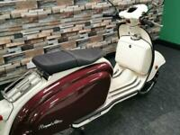 2021 Royal Alloy TG 125cc S Modern classic retro style scooter / moped for sa...