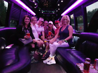 20 passenger party bus for rent