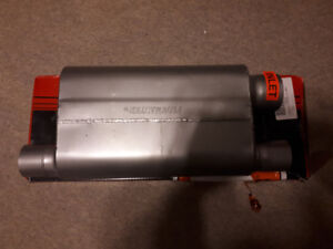Flowmaster muffler and cold air intake